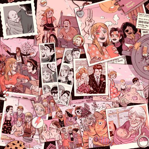 People Collage illustration