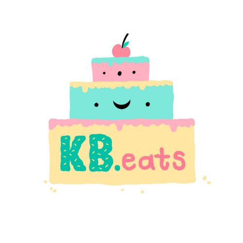Logo design of kb eats logo