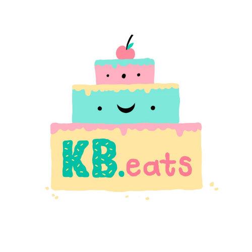 Diseño de logo de kb eats logo