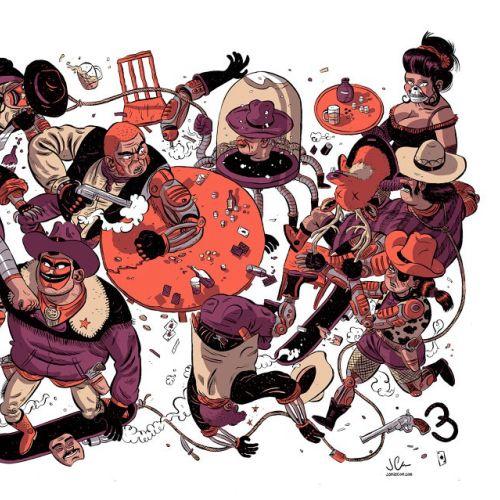 Jamie Coe Desenhos animados e humor