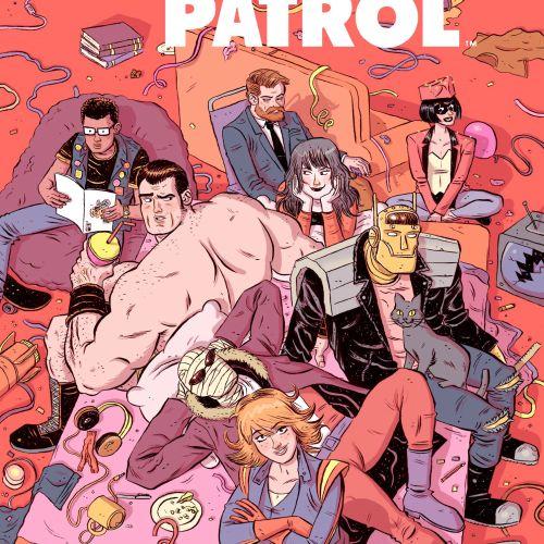 Comic poster Doom Patrol