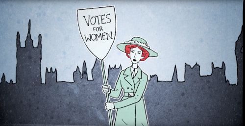 Animation vote for women