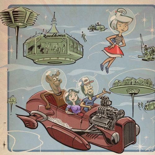 Jan Meininghaus Graphic novel & pin-up illustrator. Germany