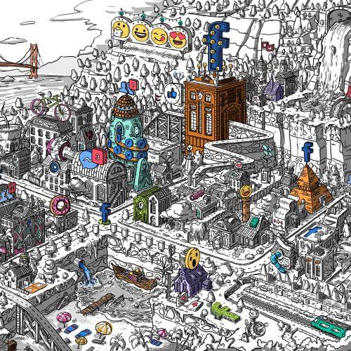 Javier Arres Novos Talentos Illustrator from Spain