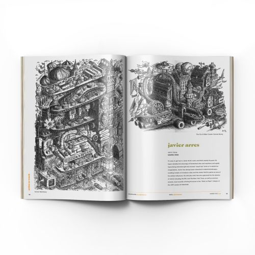 Graphic illustration of book