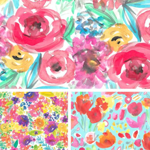 Decorative art of flowers