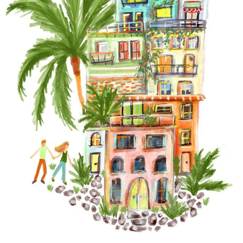 Jeanetta Gonzales Places & Locations Illustrator from USA