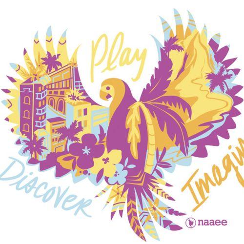 Bird illustration for T-shirt