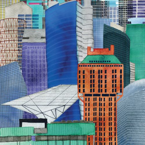 Jennifer Maravillas Illustrateur international de paysages urbains et de paysages, NY,