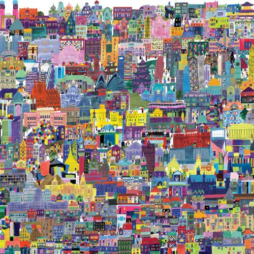 Jennifer Maravillas International Cityscape & Scenery Illustrator, NY,