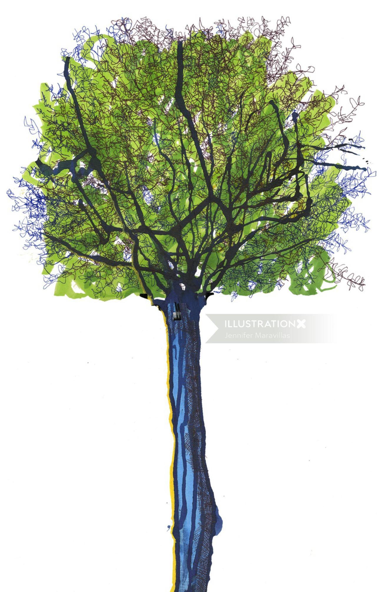 Tree | Nature illustration collection