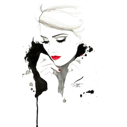 Jessica Durrant Fashion & beauty illustrator, Atlanta, Georgia