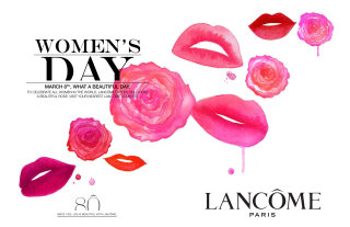 Lips illustration for women's day