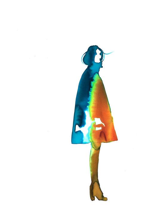 watercolour Inner Rainbow,