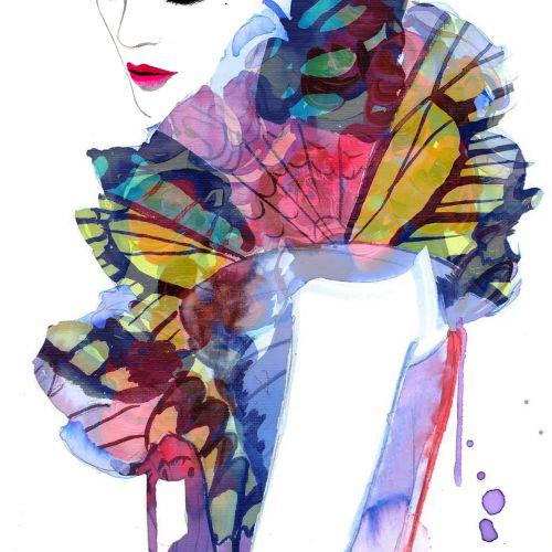 Butterfly Ruffles