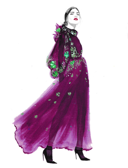 Couture de ameixa
