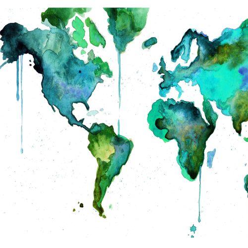World Map No. 6
