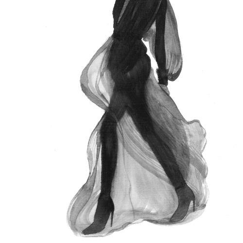 Little Sheer Black Dress