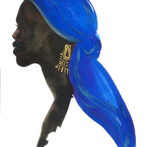 Blue Wrap
