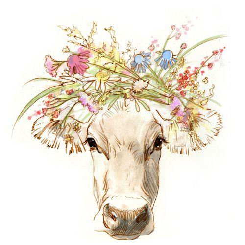 Cartoon animal illustration by Jessine Hein