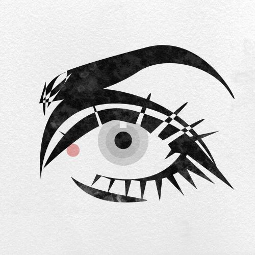 Sketch art of eye
