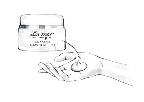 La Mer face cream fashion illustration