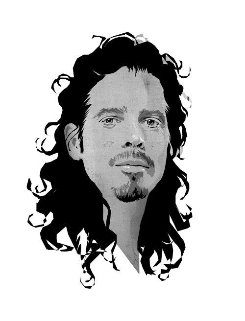 Black and white portrait of Bob Marley