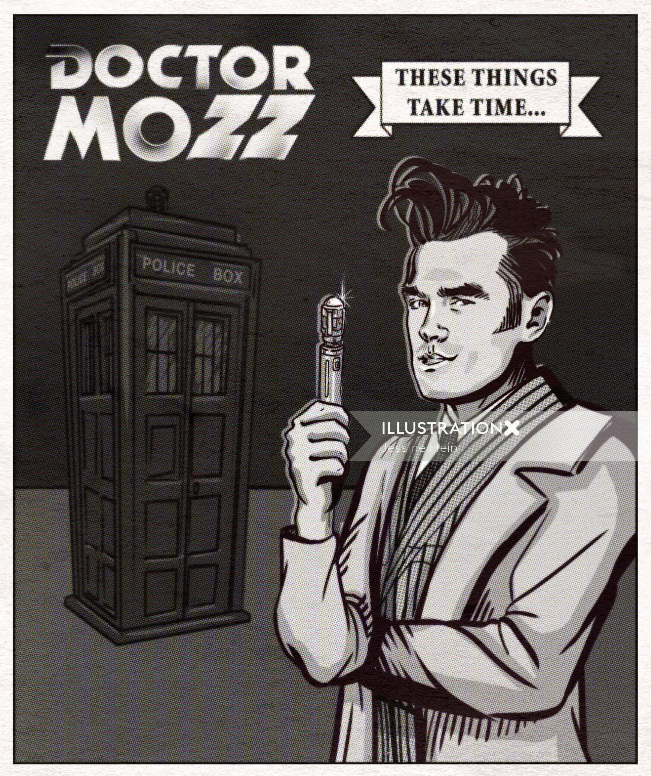 Poster design of Doctor mozz
