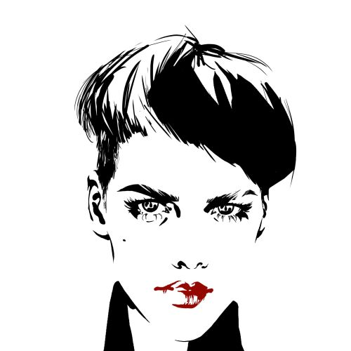 Jessine Hein Portraits Illustrator from Germany