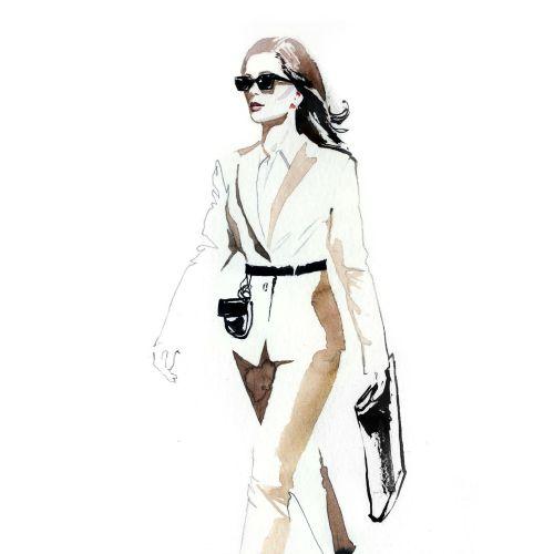 Jessine Hein Fashion Illustrator from Germany