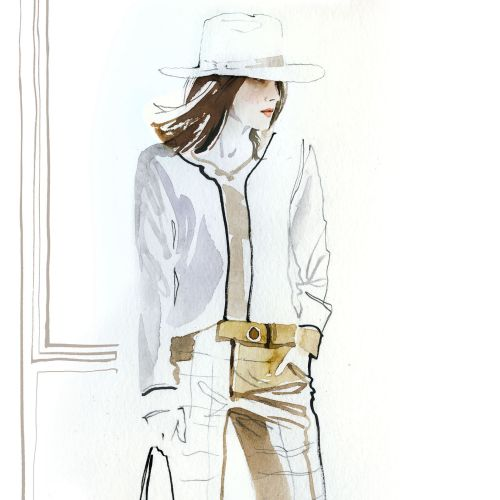 Jessine Hein Fashion Illustrator from Germany