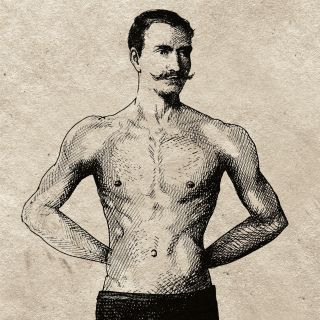 An illustration of man body