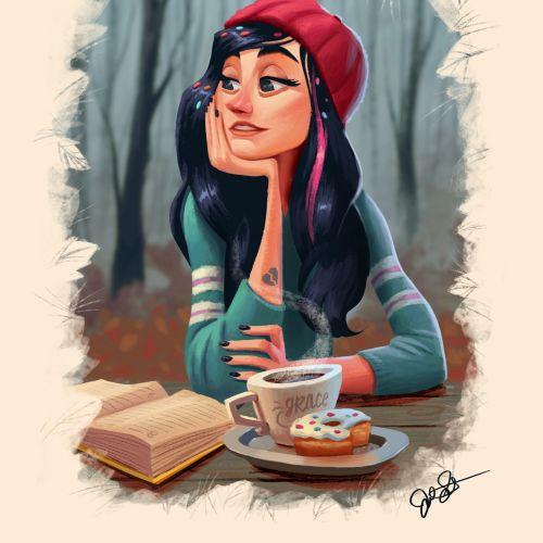 Disney character illustration by Joel Santana