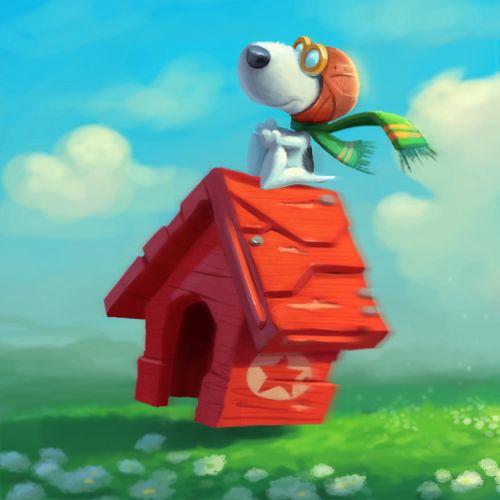 Animal cartoon character illustration