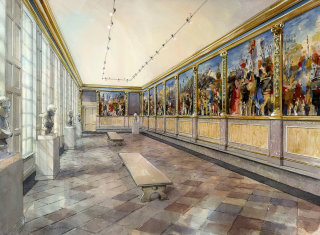 Painting of Art museum