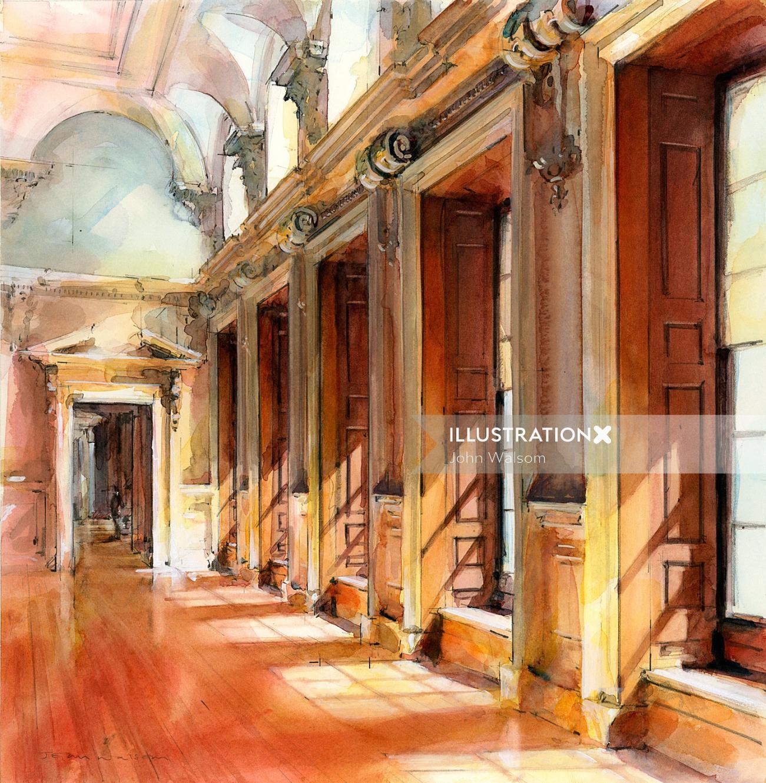 Hampton Court Palace Interior