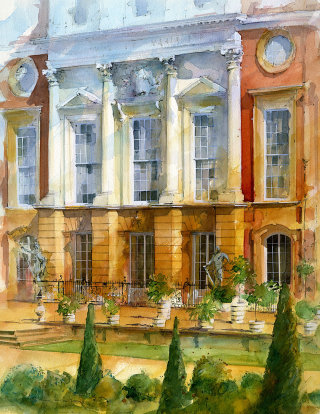 Hampton Court - Architectural drawing
