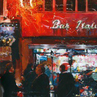 Bar Italia contemporary art by John Walsom