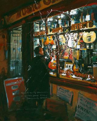 Guitar Porn in Denmark Street