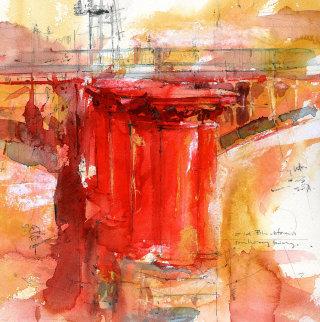 Acrylic Art of Old Blackfriars Bridge