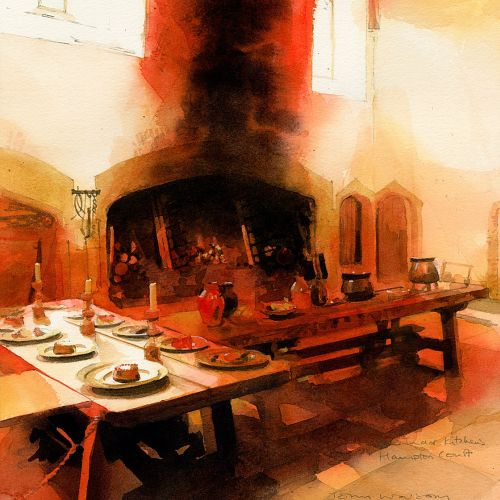 Historic Kitchens painting