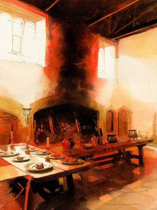 Historic Kitchens painting