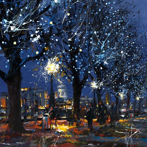 South Bank Lights illustration