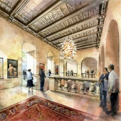 Proposal for the interior of a historic theatre in Malta
