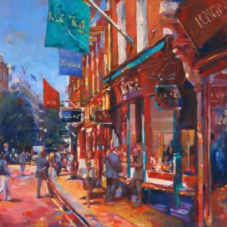 New Bond Streetscape Painting