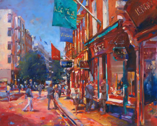 New Bond Streetscape Painting