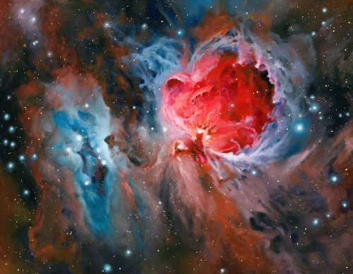 Orion Nebula Painting
