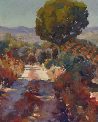 Oil painting of Andalucia