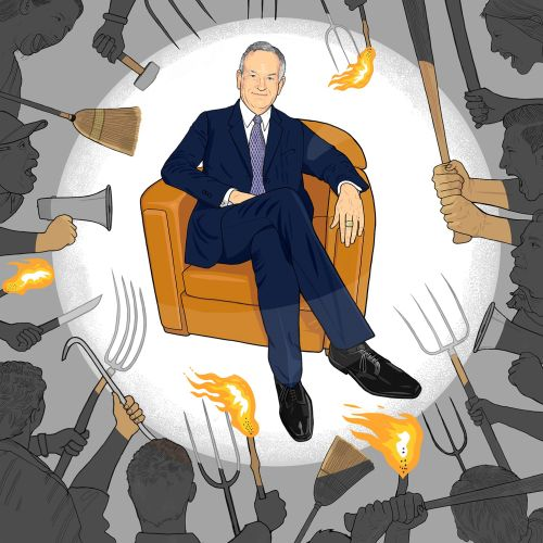 Portrait Illustration of Bill O'Reilly