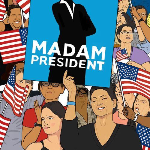 Computer Generated Illustration Madam President